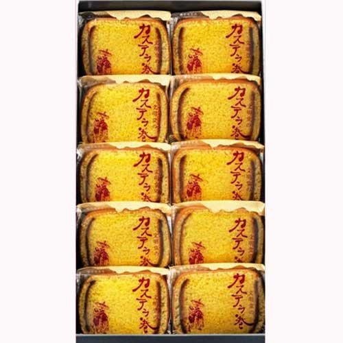 Bunmeidou Kasutera sponge cake Japanese Toraditional sweets 10pice