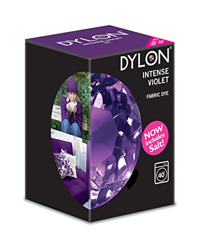 DYLON Maschine Farbstoff 350g Intensive Violette, Salz Enthalten!