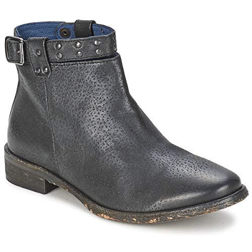 Schmoove - Boots Femme SANDINISTA Ankle - Noir (40 EU)