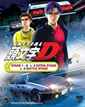 INITIAL D STAGE 1 - 6 Japanese Anime / English Subtitle