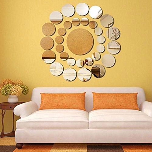 Kicode 31pcs DIY Etiqueta Pequeña Grande Inicio círculo