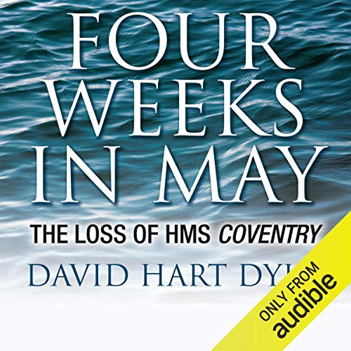 Four Weeks in May audiobook cover art