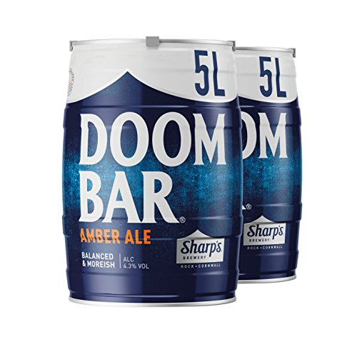 Sharp's Brewery Doom Bar Amber Ale 2 x 5L Mini Keg