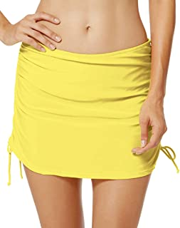 Seagoo Women Skirted Swim Bottoms Swimming Bikini Skirt Slimming Chlorine Resistant Beachwear