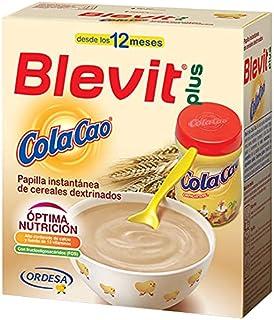 Blevit Plus ColaCao - Papilla de Cereales para Bebé con Calcio, Hierro y 13 vitaminas - Sabor Cola Cao - Desde los 12 mese...
