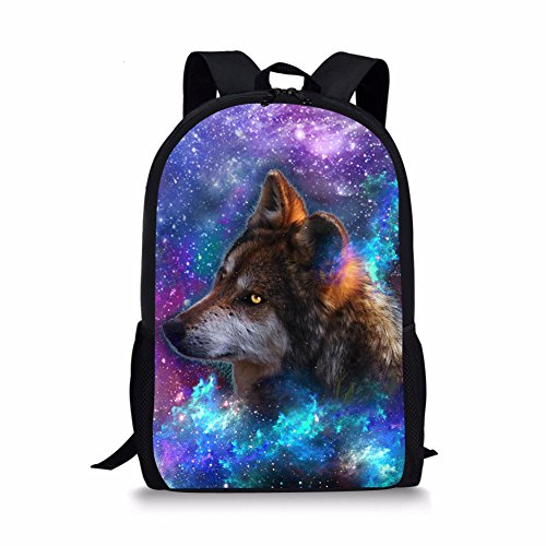Advocator, Zainetto per bambini, Wolf3 (Viola) - Advocator packable backpack
