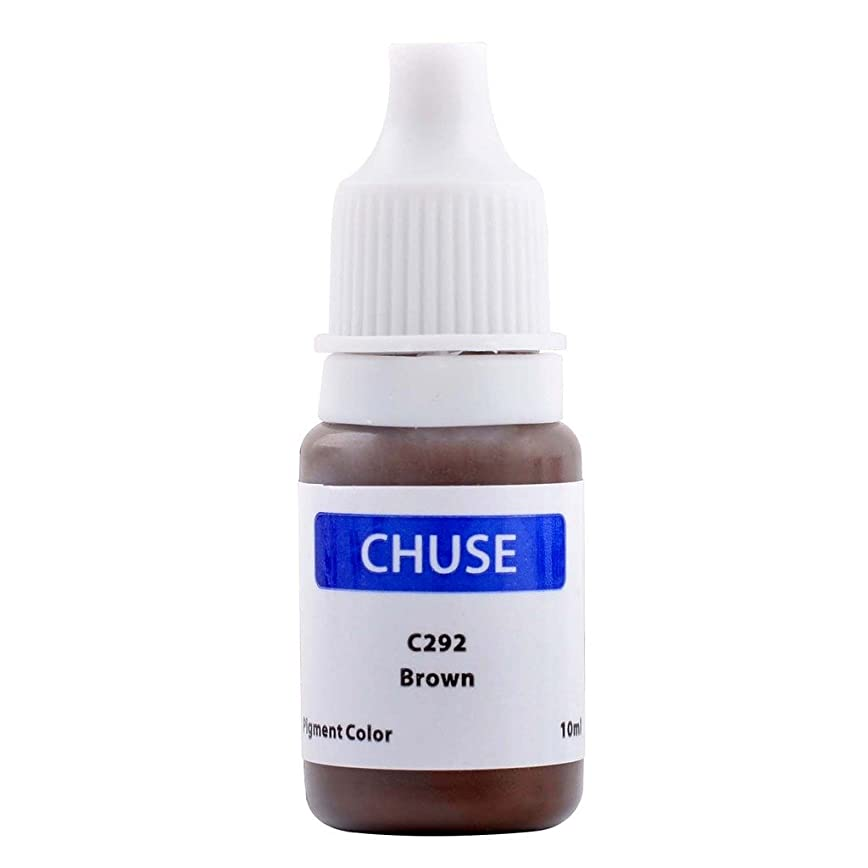取り替える船上正規化(チュース)Chuse C292 眉タトゥーカラーメイク色素 コーヒー色