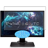 VacFun 2 Piezas Filtro Luz Azul Protector de Pantalla para ViewSonic Elite XG240 / XG240R 24' Display Monitor, Screen Protector Película Protectora (Not Cristal Templado) Anti Blue Light Filter
