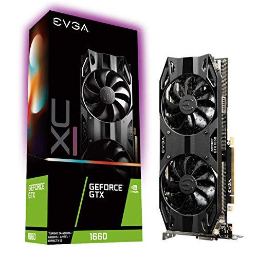 EVGA GeForce GTX 1660 XC ULTRA GAMING, 06G-P4-1167-KR, 6GB GDDR5, Dual HDB Fan