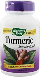 Nature'S Way - Turmeric Standardized Extract 120 Tablets