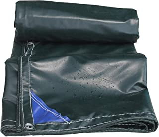 MXK Canvas Tarpaulin Tarps - Dustproof Rainproof Tarpaulin, Anti-Aging Insulation - Camping Fishing Gardening (Size : 2mX3m)