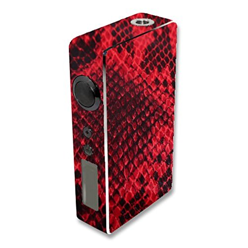 Decal Sticker Skin WRAP Red Snakeskin for Sigelei 150W