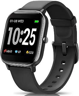 comprar comparacion AIMIUVEI Smartwatch, Reloj Inteligente IP67 con Pulsómetro, Presión Arterial, 7 Modos de Deportes y GPS, Monitor de Sueño ...