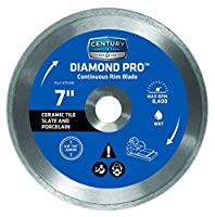 Century Drill and Tool 75458 Professional Continuous Rim Diamond Saw Blade 7-Inch [並行輸入品]
