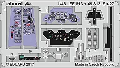 Eduard 1:48 Su-27 Color PE Detail Set for Hobby Boss #49813