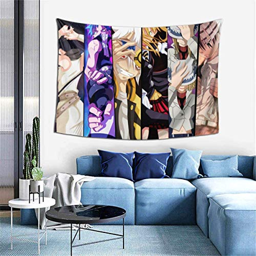 Hdadwy 3D Print Soul Eater Mural Art Tapestry Wall Hanging Tapestries Bedroom Home Tapestry 60x40 Inches Tapestry Fashion Decorations Living Room Bedroom Dorm Decor Tapestry