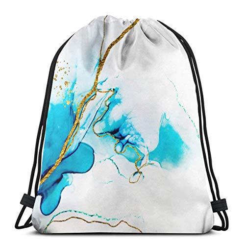 XCNGG Bolsa con cordón Bolsa con cordón Bolsa portátil Bolsa de gimnasio Bolsa de compras Transparent Creativity. Abstract Artwork. Trendy Wallpaper Drawstring Gym Sport Bag, Large Lightweight Gym Sac