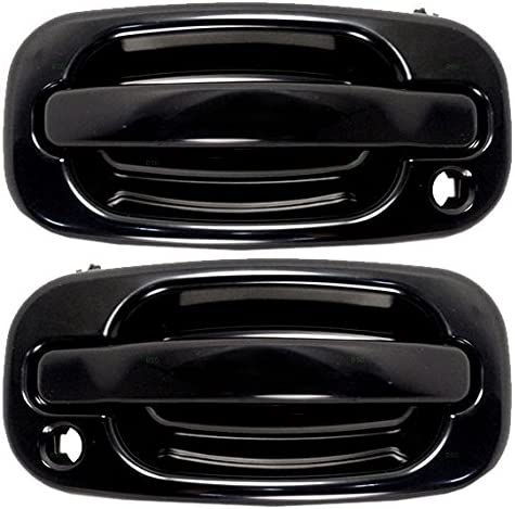 Pair Set Front Outside Exterior w Replace Handles Al sold out. Keyholes Door Max 70% OFF