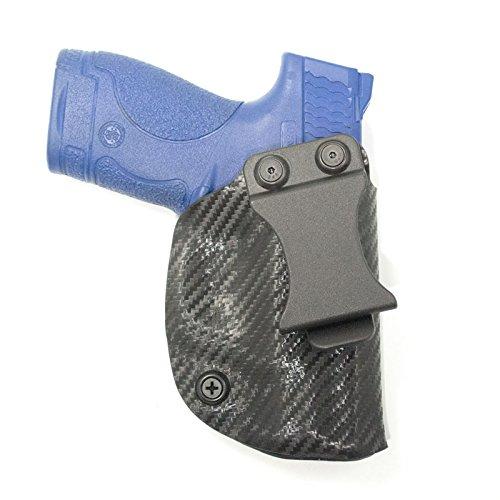 Outlaw Holsters Black Carbon Fiber Kydex Concealment IWB Holster (Right-Hand, Beretta Nano)