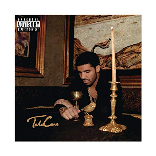 Aubrey Drake Graham's Album Cover - Take Care Canvas Poster Wall Art Decor Print Picture Paintings for Living Room Bedroom Decoration 12×12inch(30×30cm) Unframe-style1