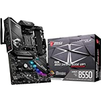 MSI MPG B550 Gaming Edge WiFi Gaming Motherboard (AMD AM4, DDR4, PCIe 4.0, SATA 6Gb/s, M.2, USB 3.2 Gen 2, AX Wi-Fi 6, HDMI/DP, ATX) Visit the MSI Store