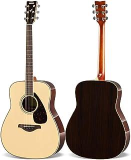 YAMAHA 雅马哈 FG830 单板民谣木吉他 41英寸 原木色 ?#22270;?#21402;琴包等玩琴大礼包 (亚马逊自营商品, 由供应商配送)