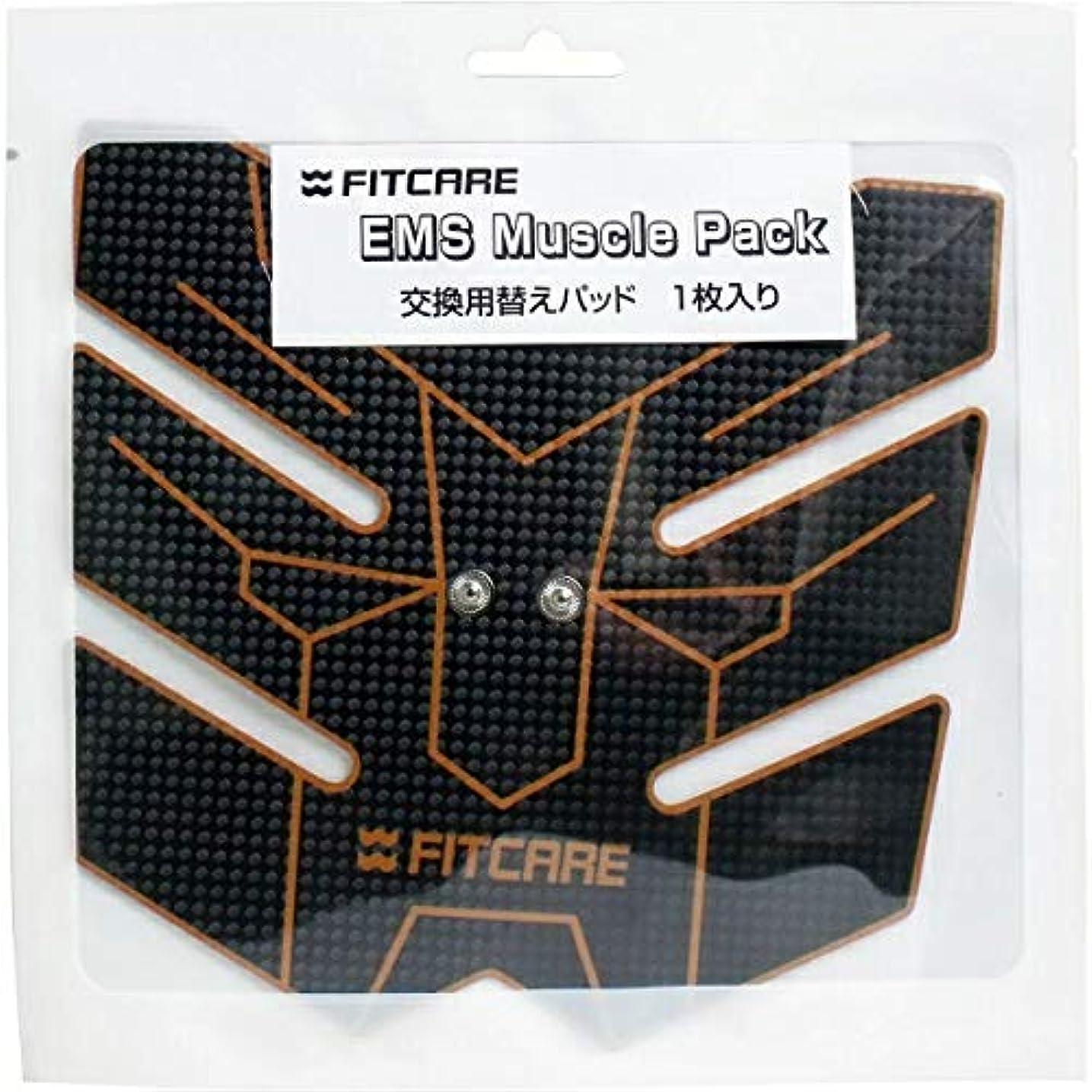 怒り力強いトランペット【10個セット】EMS マッスルパック 交換用替えパッド(1枚入) ×10個セット