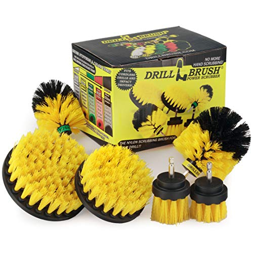 Cleaning Supplies - Bathroom Accessories - Drill Brush -...
