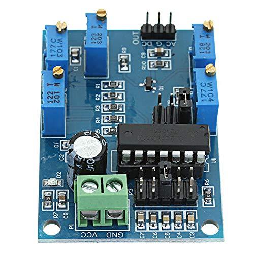 Módulo electrónico Generador de señal Medio/Frecuencia baja 10Hz-450KHz Triangular/Rectangular/Sine Wave Módulo Generador 12V a 15V ICL8038 Equipo electrónico de alta precisión