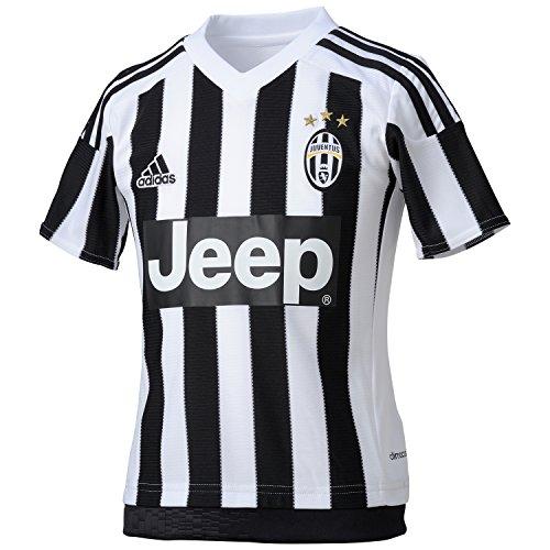 adidas Juve H JSY Y Herren Shirt, Weiß/Schwarz, Herren, Juve H JSY Y, weiß/schwarz, 128