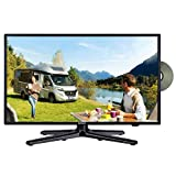 Gelhard GTV-1982PVR LED Fernseher 19 Zoll TV DVD DVB-S/S2/T/T2/C 230/12 Volt / 24 Volt