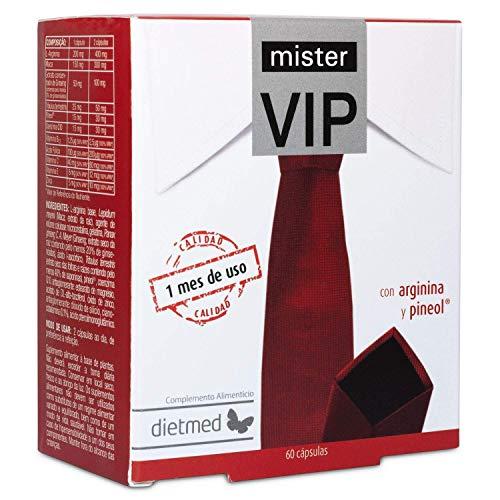 Mr VIP – Ginseng, L-arginina, Coenzima Q10, Maca E Tribulus Terrestris - Integratore Naturale Per Potenza E Resistenza - 60 Capsule Per 1 Mese Di Trattamento