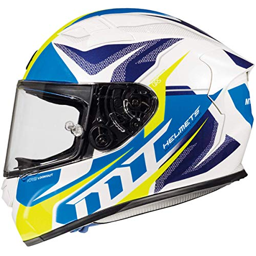 Casco Mt Helmeth KRE LOOKOUT G6 BLANCO Y AZUL (L)