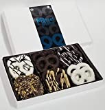 Pretzel Plate Gourmet Chocolate Covered Pretzels Perfect for Corporate Gift, Holiday, Fathers Day, Mothers Day, Valentines, Christmas or Birthday