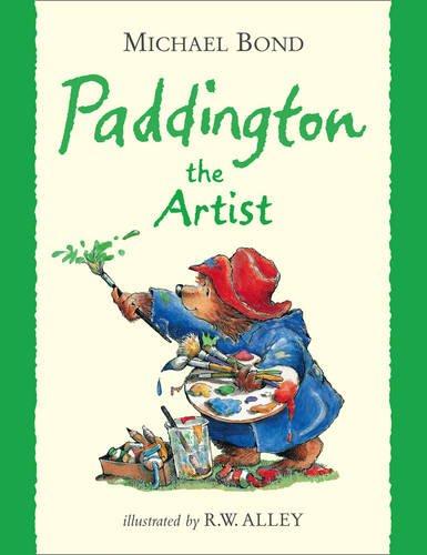 『Paddington the Artist』のカバーアート