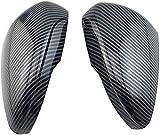 Cubierta deEspejo retrovisor de CocheXGFCNB, para Ford Focus MK4 2019 2020,Cubierta de Espejo retrovisor conApariencia deFibra de Carbono, reemplazo de Cubierta de Espejo Lateral