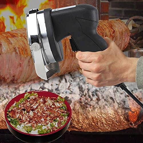 Coltello Elettrico Gyros Kebab Affettare kebab Coltello Shawarma coltello Gyro coltello, coltello a fette di carne Gyros,80W