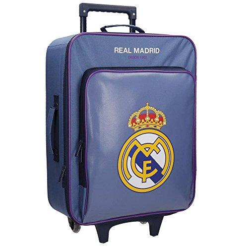 Real Madrid Magnum Valigia per bambini, 52 cm, 26 liters, Viola (Morado)