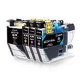 Uniwork LC3219XL Cartouches d'encre Remplacer pour Brother LC3219XL Compatible avec...