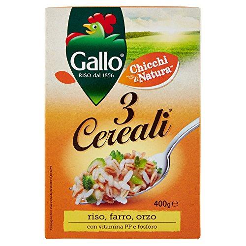 Gallo 3 Cereali Miscela di Cerali, 400g
