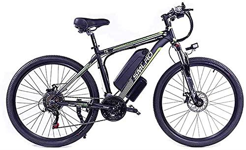 Bicicleta eléctrica de 26 pulgadas para adultos 48V 350W Batería de litio...