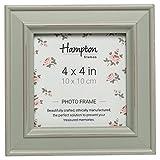 Hampton cornici Paloma Cornice portafoto, Legno, Verde Salvia, 14.5 x 14.5 x 2.5 cm, green
