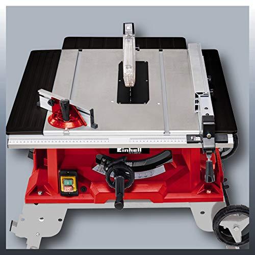 Einhell Tischkreissäge TE-TS 2025 UF (2000 W, Sägeblatt Ø250 x Ø30 mm, max. Schnitthöhe 78 mm, Tischgröße 645 x 455 mm) - 5