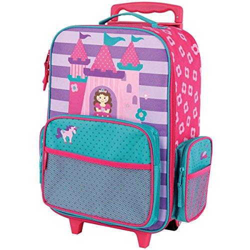 Stephen Joseph Kids Classic Rolling Luggage, Princess/Castle, One Size