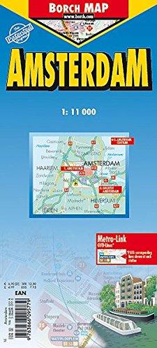 Amsterdam: 1:11000. Einzelkarten: Amsterdam 1:11000; Amsterdam Centrum 1:6000; Greater Amsterdam 1:100000; Metro & Tram; The Netherlands administrative