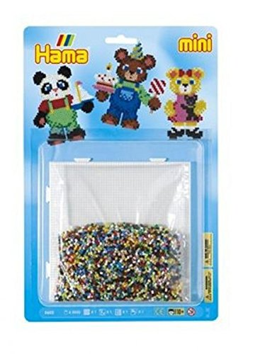 Hama Mini Bügelperlen - Teddy Bears Large Kit