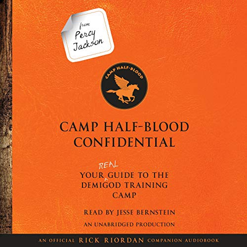 From Percy Jackson: Camp Half-Blood Confidential cover art