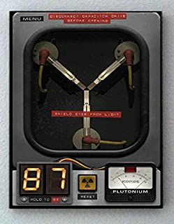 Framed Back To The Future Flux Capacitor 9X11 Hi-Res Photo Print
