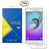 Glass Com Lot de 2 films en verre trempé pour Samsung Galaxy A3 2016 SM-A310 / A310F /...