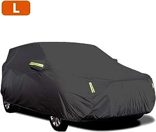 Capa para carro KKmoon impermeável para todos os climas, capas para carro Sedan completas com fita reflexiva – proteção so...